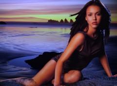 Fonds d'écran Célébrités Femme Jessica beach