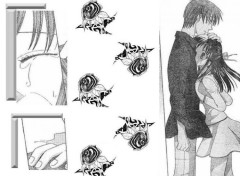 Fonds d'écran Manga COuple Kyo et Kagura
