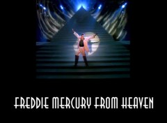 Wallpapers Music Freddie Mercury from Heaven
