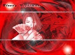 Fonds d'écran Manga Bloody Nightmare