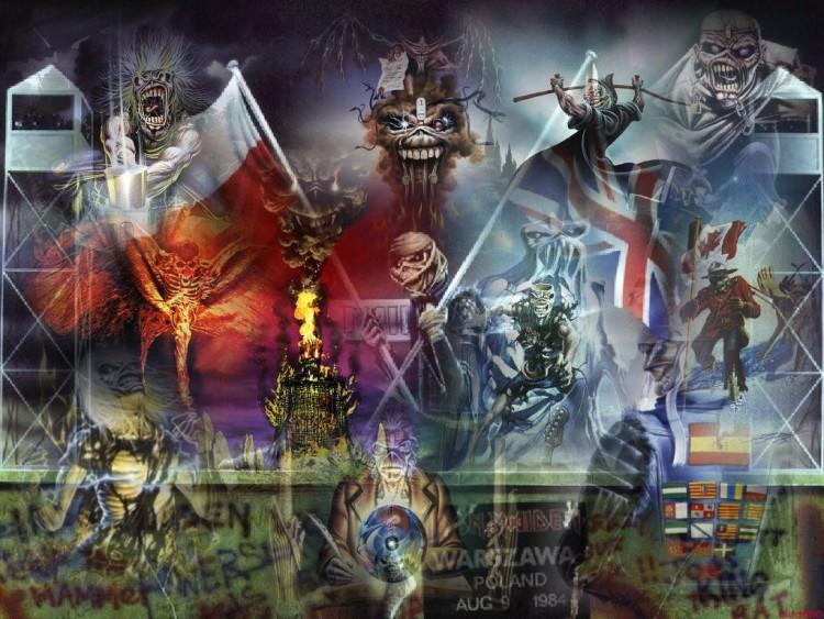 Wallpapers Music Iron Maiden Iron maiden Eddie