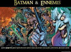 Fonds d'écran Comics et BDs Batman & Ennemis