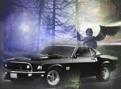Wallpapers Cars foret mustang