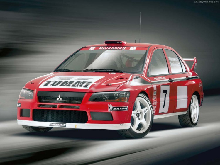 Wallpapers Cars Mitsubishi Lancer Evolution VII