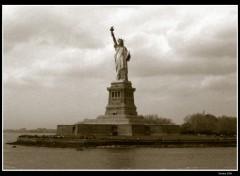 Fonds d'écran Voyages : Amérique du nord Statue de la liberté