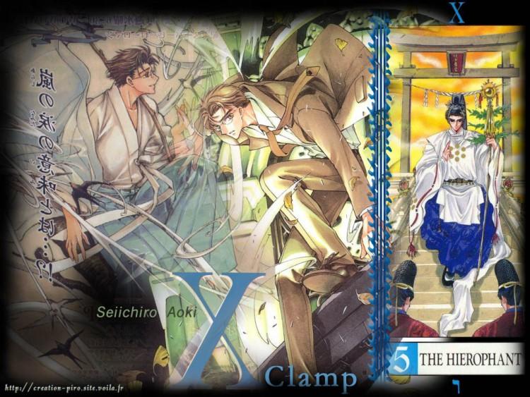 Fonds d'écran Manga X:1999 Seiichiro Aoki