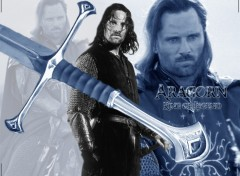 Fonds d'écran Cinéma ARAGORN - King of Legend