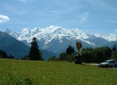 Wallpapers Nature Le Mont-Blanc