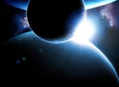 Fonds d'écran Espace Eclipse