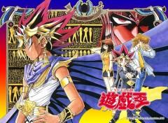 Fonds d'écran Manga Yugi en pharaon