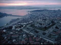 Fonds d'écran Voyages : Asie Mosquée islamique en turquie