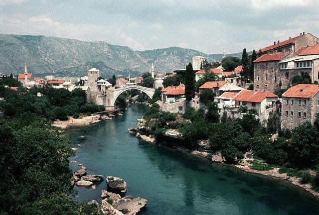 Wallpapers Trips : Europ Bosnia Herzegovina Mostar pre rata