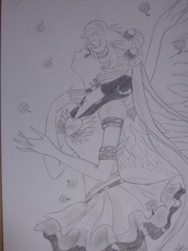 Fonds d'écran Art - Crayon Manga - Sailor Moon Wallpaper N°70609