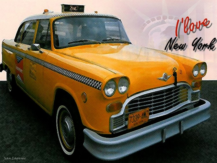 Fonds D Ecran Voitures Fonds D Ecran Checker New York Taxi