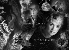 Fonds d'écran Séries TV space Samantha Carter