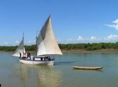 Fonds d'écran Voyages : Afrique Boutre 1
