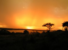 Fonds d'écran Voyages : Afrique Couché de soleil malgache