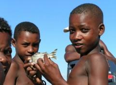 Fonds d'écran Voyages : Afrique Enfants vezo
