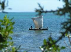 Fonds d'écran Voyages : Afrique Pirogue 2
