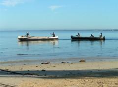 Fonds d'écran Voyages : Afrique Pirogues