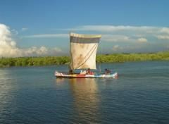 Fonds d'écran Voyages : Afrique Pirogues 3