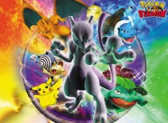 Wallpapers Video Games Mewtwo et ses clones