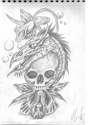 Fonds D Ecran Art Crayon Fonds D Ecran Tatouages L Orchidee Le