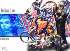 Wallpapers Video Games FFX Aeons