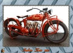 Fonds d'écran Motos Indian Twin 1920