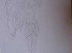 Fonds d'écran Art - Crayon personnage de diablo 2