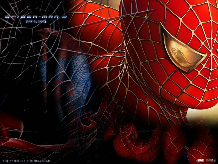 Wallpapers Movies Spider-Man 2 Toile spiderman 2