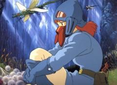 Fonds d'écran Manga Nausicäa seule