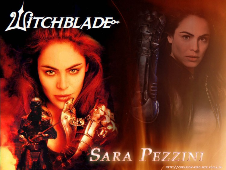 Fonds d'écran Séries TV WitchBlade Sara Pezzini flamme