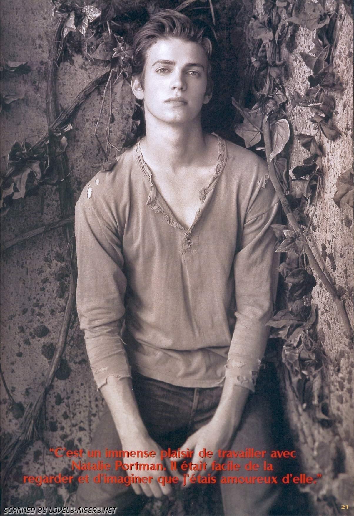 Fonds d'écran Célébrités Homme Hayden Christensen Le beau Hayden