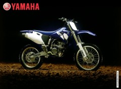 Fonds d'écran Motos yamaha cross