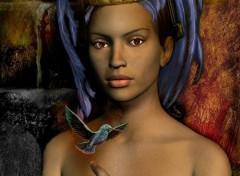Fonds d'écran Art - Numérique Les plumes