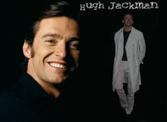 Fonds d'écran Célébrités Homme Et encore Hugh!