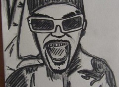 Fonds d'écran Art - Crayon chanteur