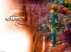 Fonds d'écran Manga Nausicäa seule 2