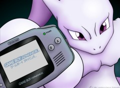 Wallpapers Video Games Mewtwo GBA