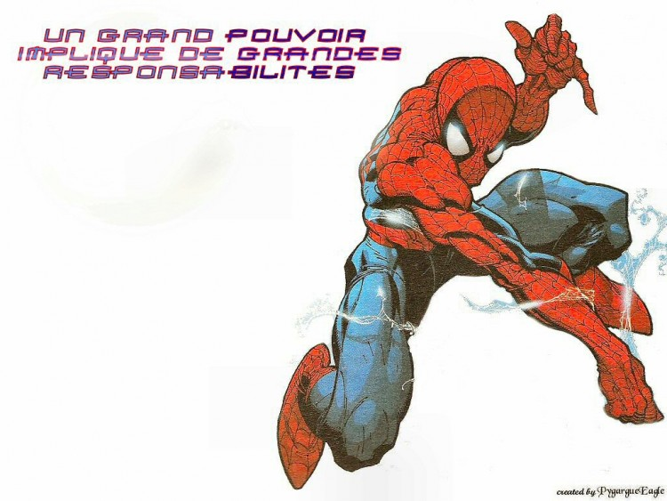 Fonds d'écran Comics et BDs Spider Man Responsabilités