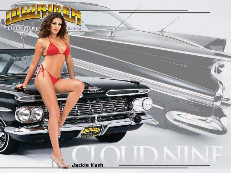 Something lowrider cars with girls