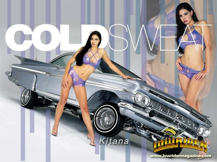 Wallpapers Cars Girls and cars Lowrider