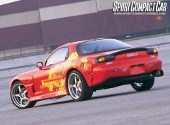 Fonds d'écran Cinéma Mazda RX-7 de Orange Juice
