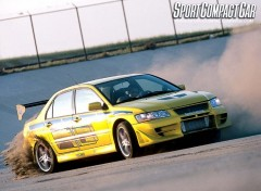 Wallpapers Movies La Lancer evo 8