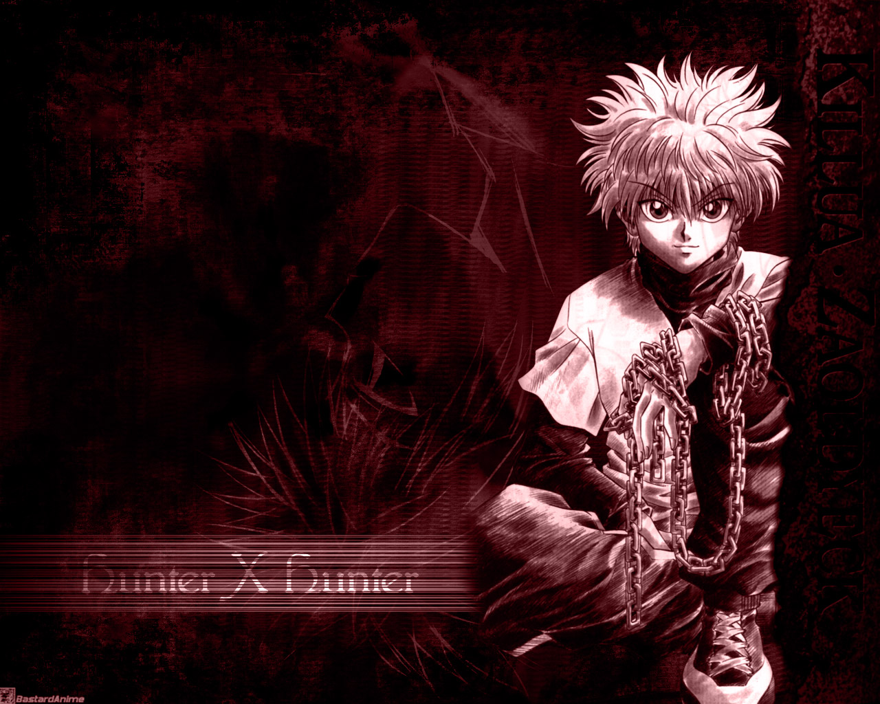 Fonds d'écran Manga Hunter x Hunter killua 02