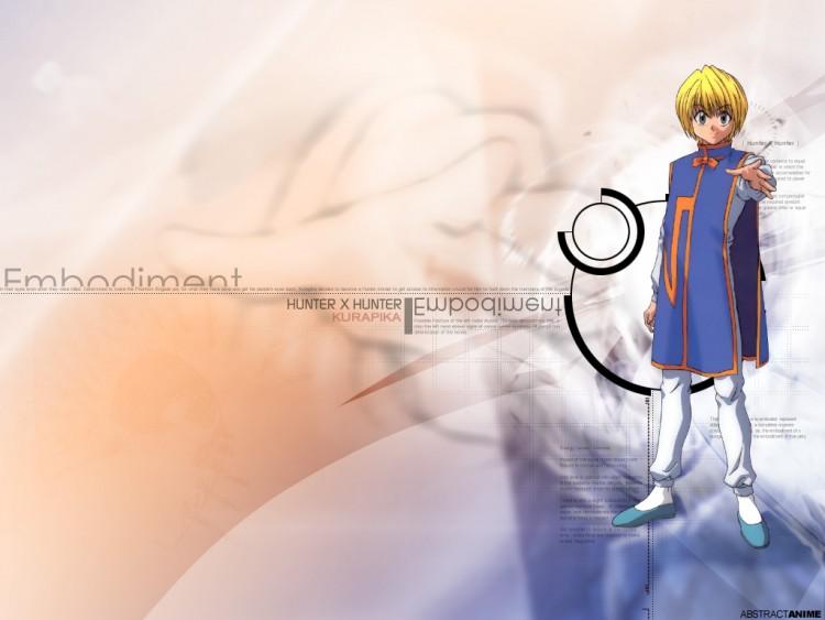 Fonds d'écran Manga Hunter x Hunter Kurapika