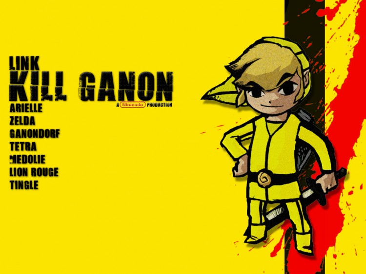 Fonds d'écran Jeux Vidéo Zelda Kill Ganon