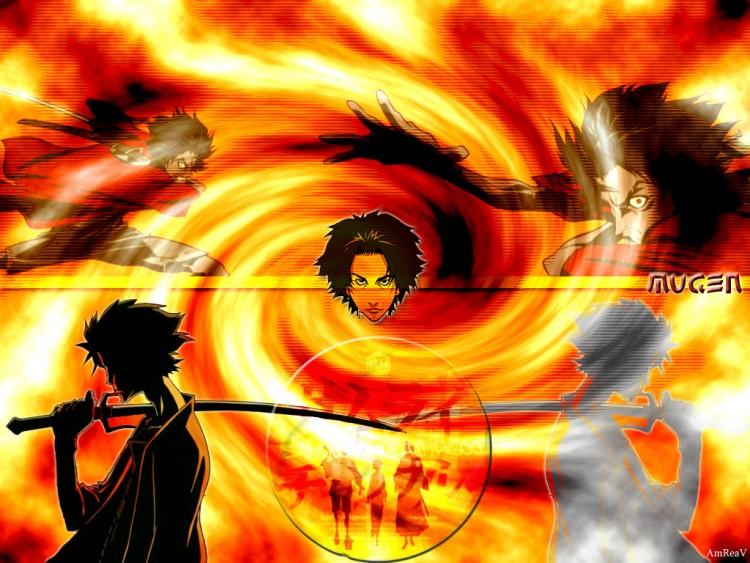 Fonds d'écran Manga Samurai Champloo Samurai Mugen