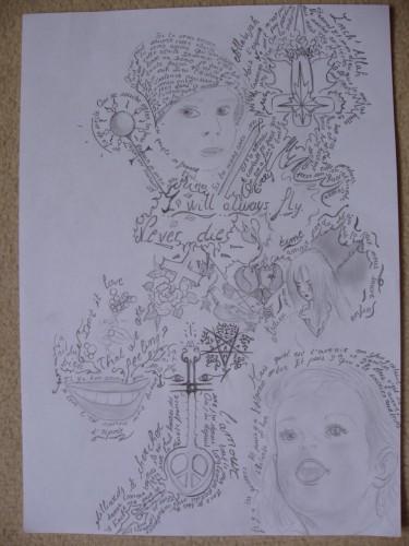 Fonds d'écran Art - Crayon Musique Wallpaper N°77250